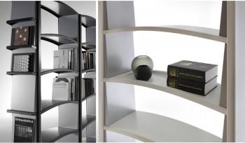 Libreria Chiave di volta in metallo piani ad arco particolari