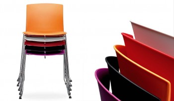 Vanity sedia attesa scocca in plastica