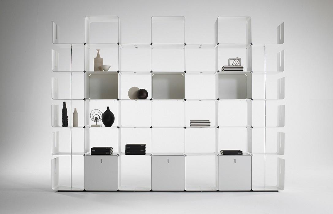 cwave libreria in metallo - riganelli