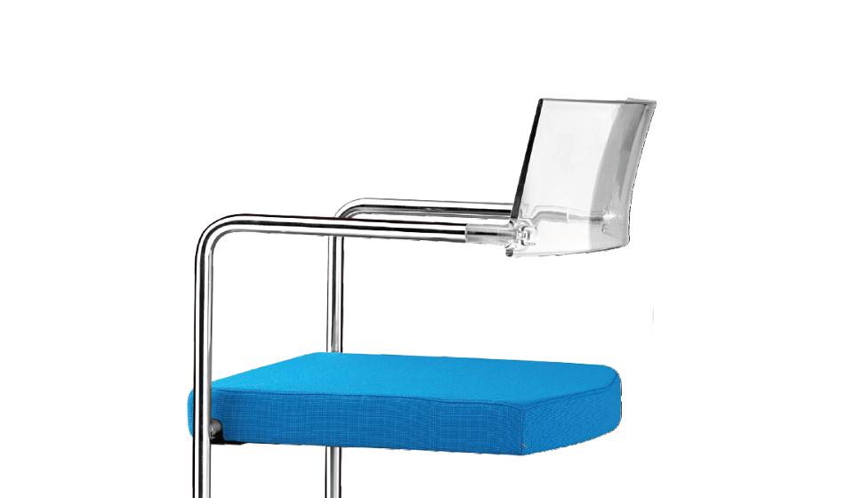 Vela seduta per ospiti in plexiglass - riganelli