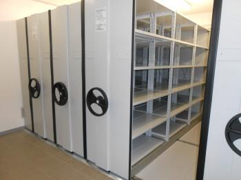 realizzazione archivio compattabile per archiviazione documenti cartacei - riganelli uffici