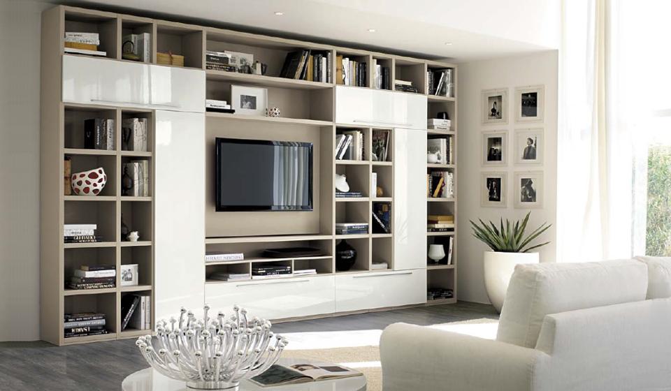 LIVING Mobili casa soggiorno progettazione e realizzazione | Riganelli