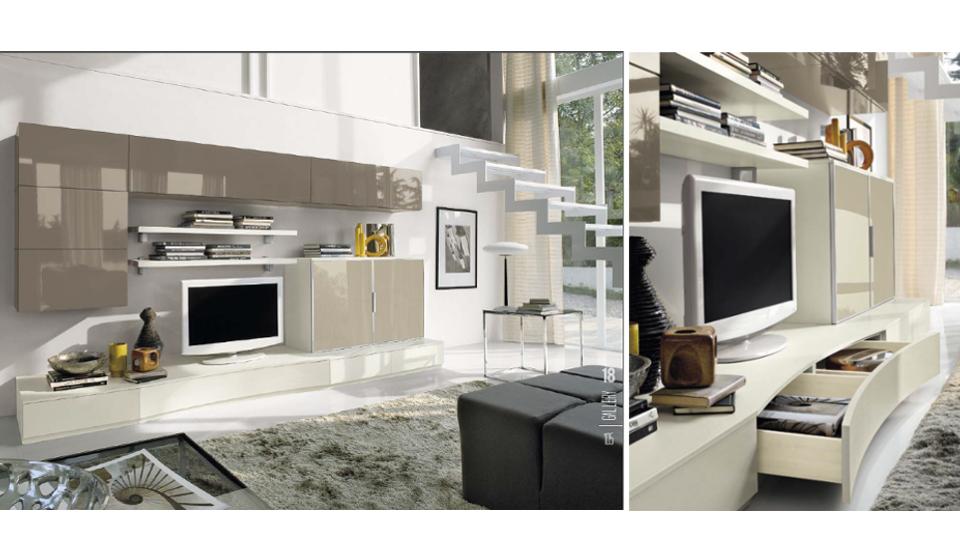 Soggiorno con scala interna design per la casa idee - Arredamento della casa con la a ...