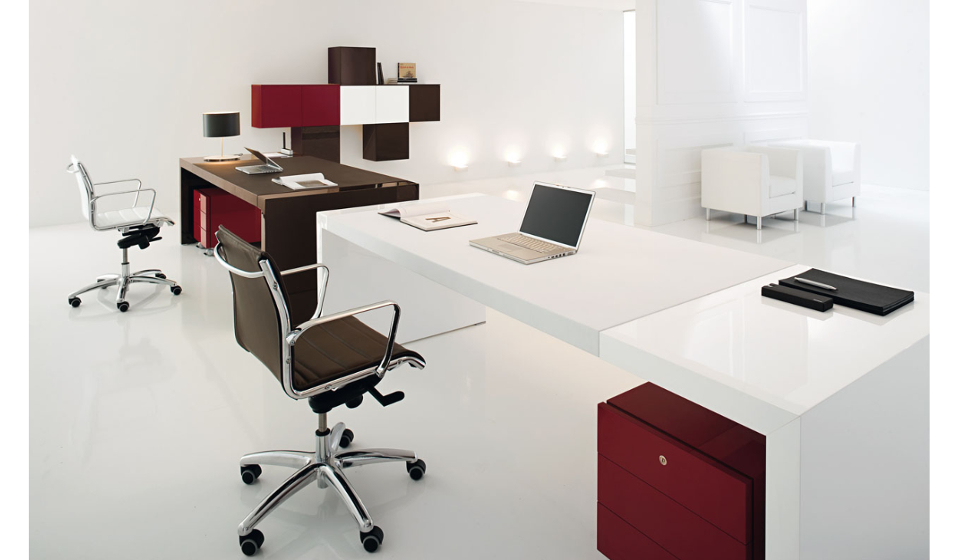 Ufficio Direzionale Bianco : Kyo riganelli