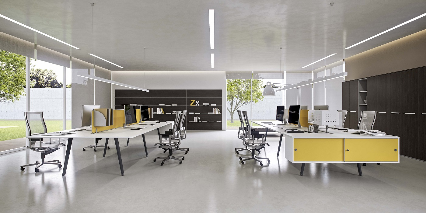 e-place scrivania operativa attrezzabile con binario - riganelli.jpg
