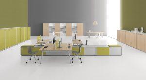 e-place arredo ufficio operativo tavoli scrivanie e archivio - riganelli