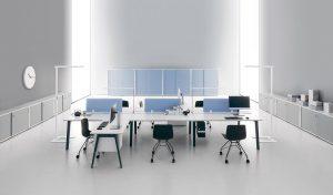 e-place multipostazione bench scrivanie -riganelli