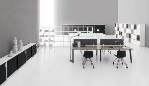 e-place scrivanie operative multipostazione -riganelli