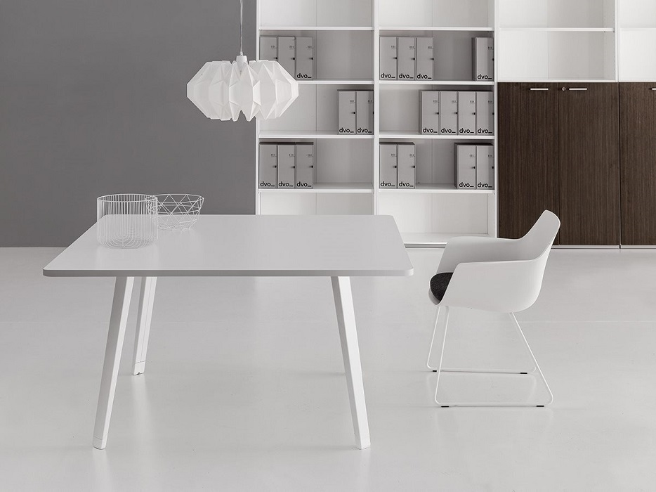 e-place tavolo riunione quadrato - riganelli