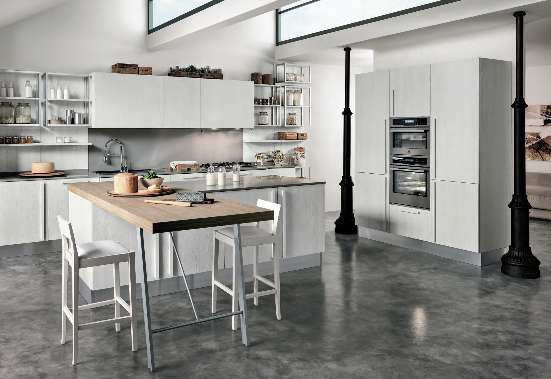 Cucina Essenza design moderno accessibile