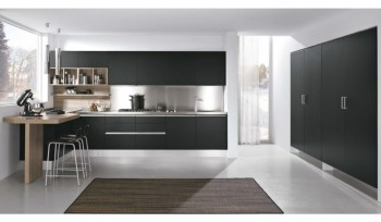 Cucina Linea colore nero