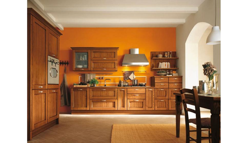 Cucine in legno classiche   Riganelli