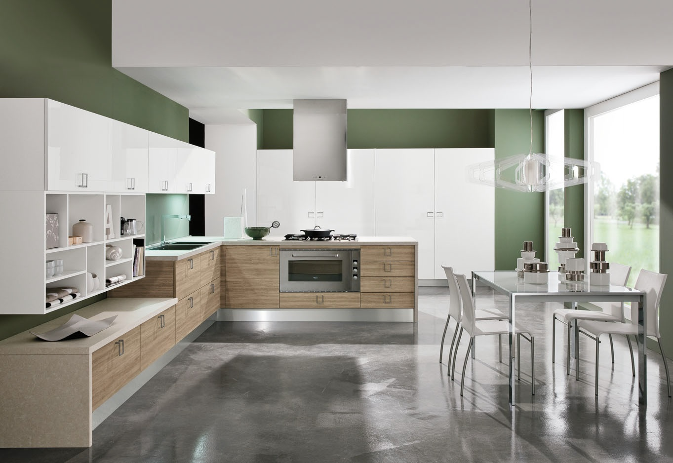 Beautiful Mensole Cucina Legno Contemporary - Skilifts.us ...