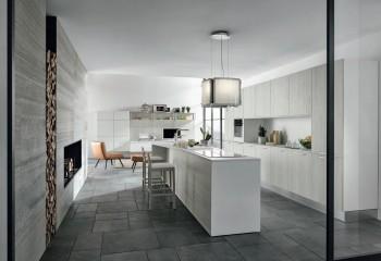 Cucina moderna con nicchia design