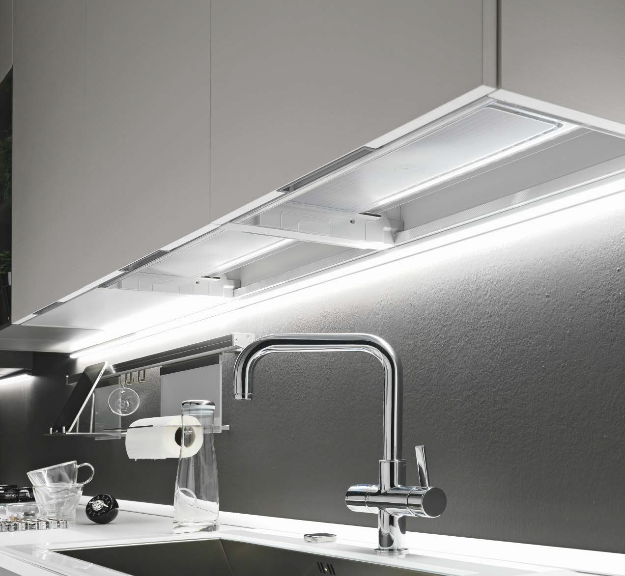Beautiful Led Cucina Sottopensile Gallery - Skilifts.us - skilifts.us