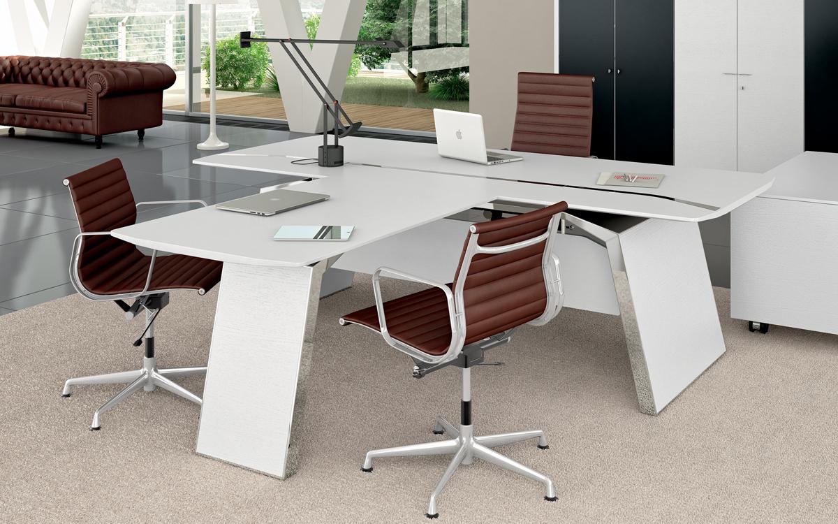 Metar scrivania direzionale modulare - riganelli store