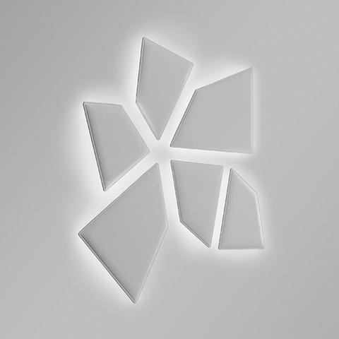 flap led realizzazione pannelli fonoassorbenti a parete - Riganelli Arredamenti