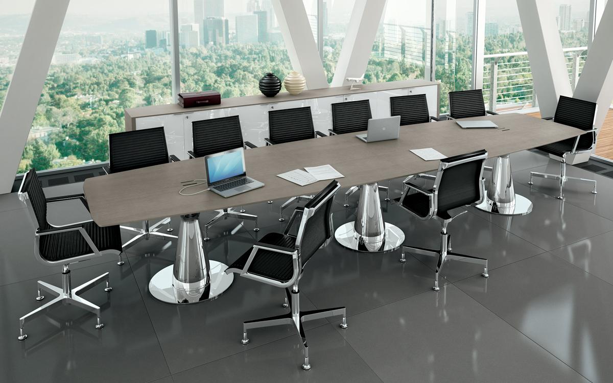 metar meeting tavolo riunioni 14 posti - riganelli
