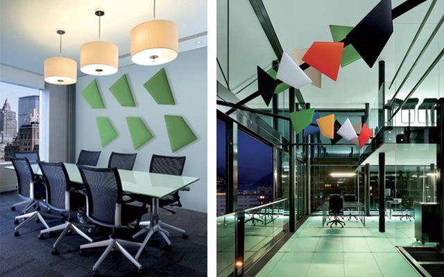 pannelli fonoassorbenti flap in ufficio