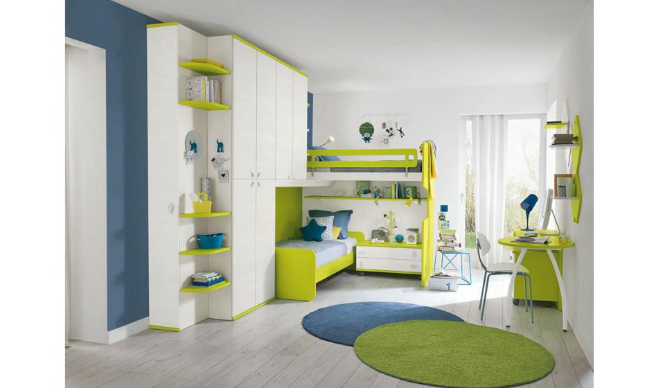 Arredamento per camerette armadi e ponti per ambienti for Arredamento per piccoli ambienti