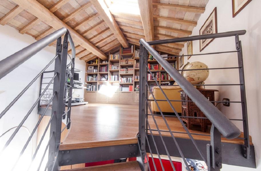 realizzazione soppalco in abitazione privata loft - riganelli