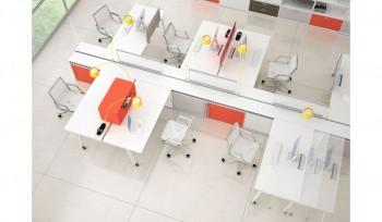 Arredo ufficio operativo multipostazioni personalizzabili