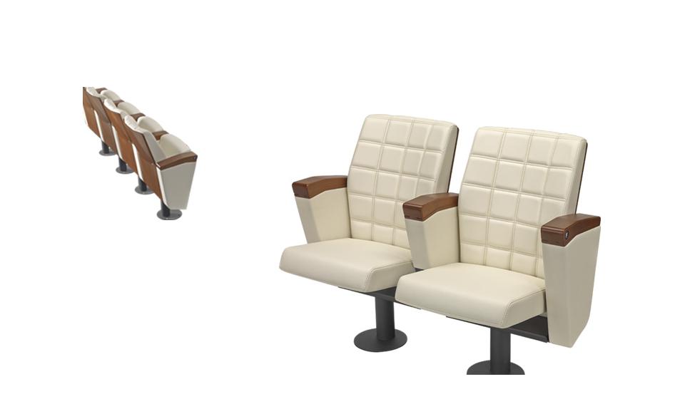 Sedia elegnte e di design per sale conferenze ed auditorium