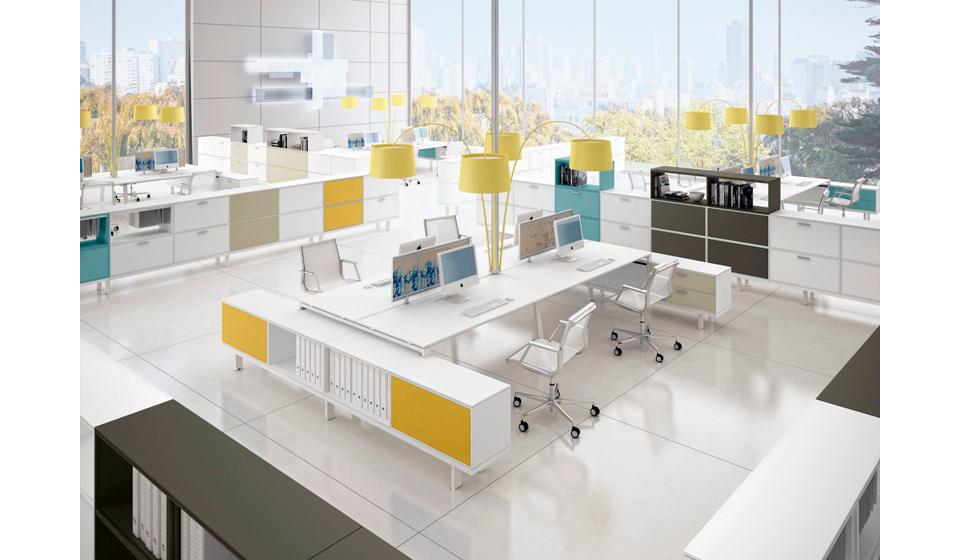 Sistema mobili per ufficio operativo Ubi Evo