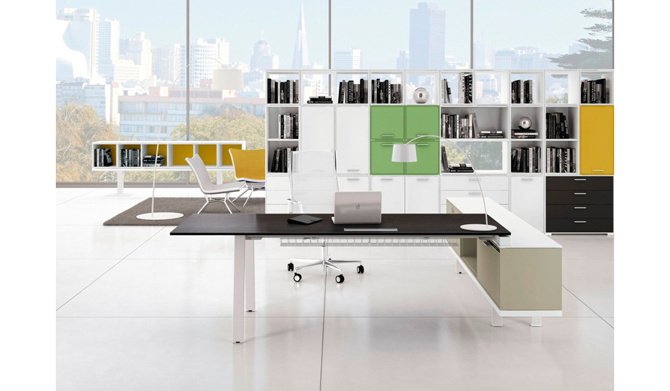 Ubi Evo anche come scrivania direzionale