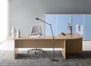 Treko scrivania operativa e direzionale arrotondata - riganelli