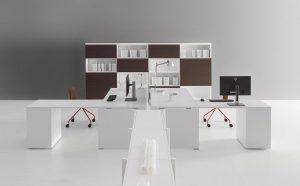 Treko soluzioni scrivanie uffici openspace - riganelli