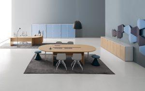 Treko tavolo riunione - riganelli