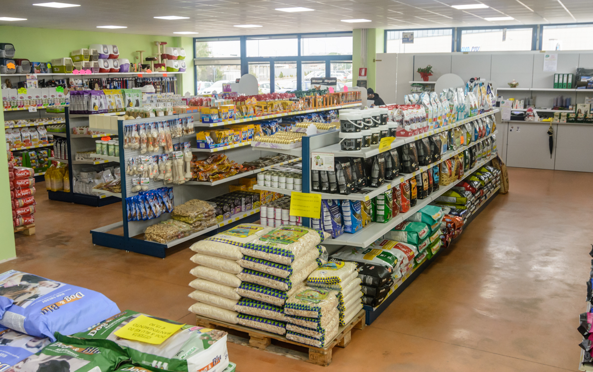 Scaffalatura a gondola per negozi e supermercati market