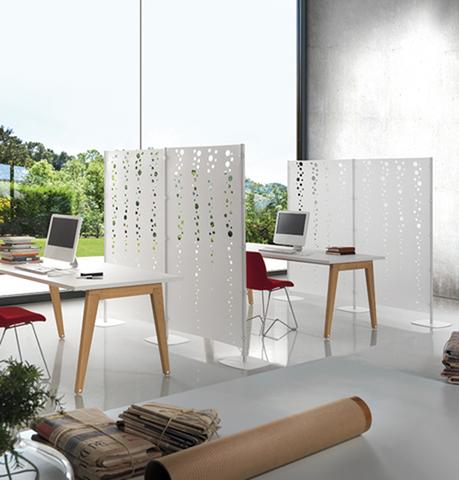 Open space o pareti divisorie with pannelli divisori for Progetta i tuoi mobili per ufficio