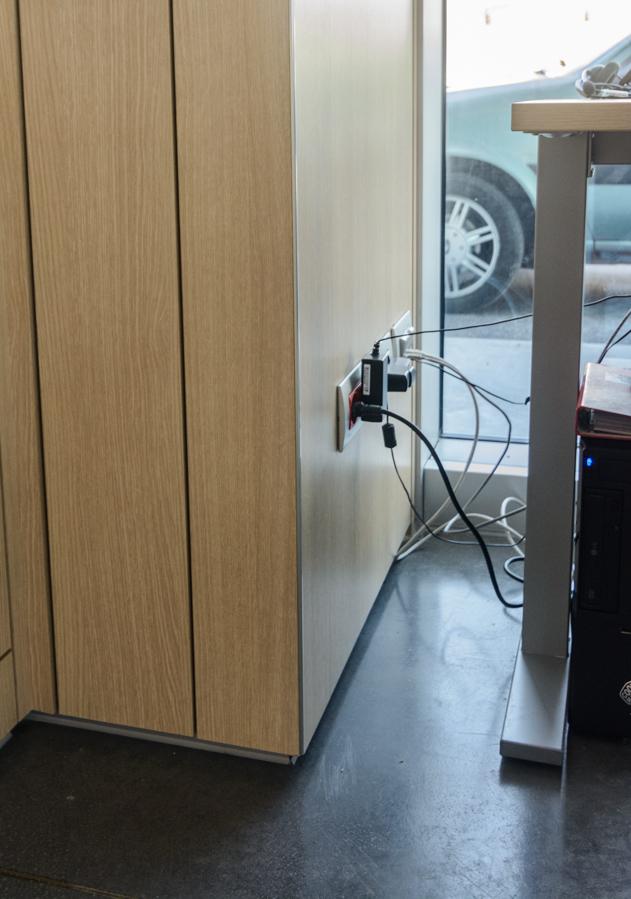 Passaggio impianto elettrico per parete divisoria