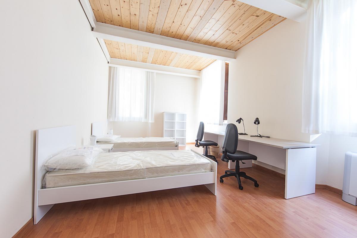 Camera dormitorio Matteo Ricci Macerata