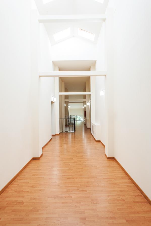 Corridoio camerate Campus universitario UNIMC