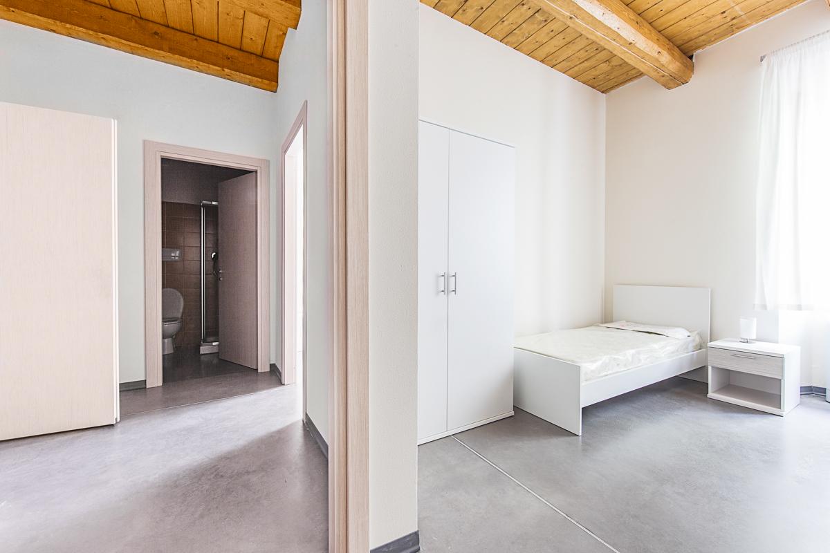 Stanze dormitorio Campus universitario Macerata