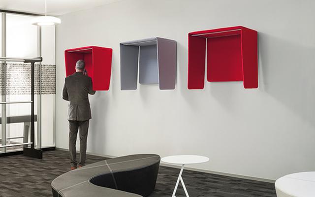COCKER Phone booth acustica cabina telefonica design - Riganelli Arredamenti