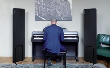 CORISTA Pannello acustico fonoassorbente registrazione audio studio musica - Riganelli Arredamenti