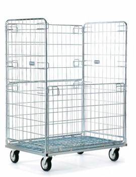 Carrello cesto stock per arredo negozi - Riganelli Arredamenti