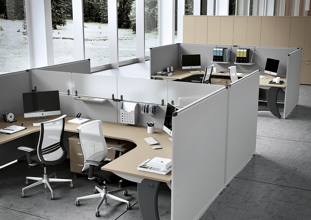 PLEXA-Paretine-divisorie-componibili-e-attrezzabili-con-mensole-e-accessori-Riganelli-Uffici-1