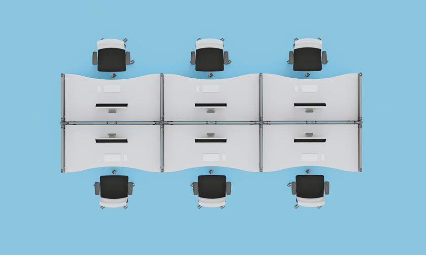 PLEXA-Suddivisione-postazioni-di-lavoro-con-paretine-attrezzabili-Riganelli-Uffici
