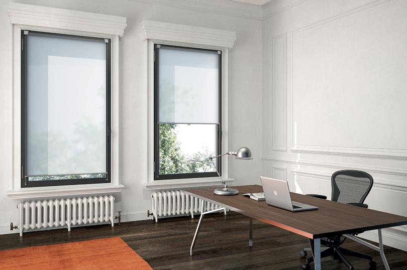 Tende tecniche rullo per finestre piccole ufficio - Riganelli Store
