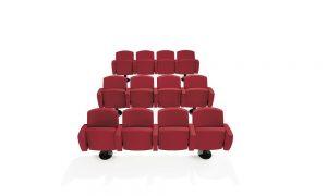 Kadenza seduta conferenze auditorium teatri - riganelli