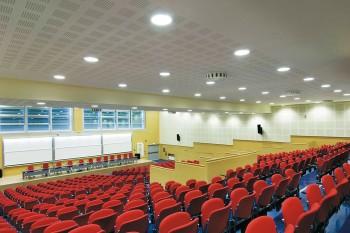 agorà sbr seduta conferenze per sale conferenza auditorium - Riganelli Arredamenti