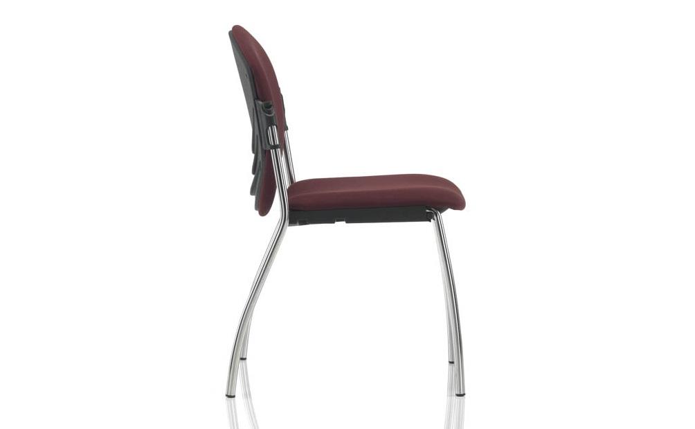 Sedia vaghi sulki 201 sedile e schienale imbottiti - Riganelli Uffici