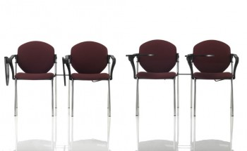 Sedie sulky 201 seduta impilabile vaghi per sala congressi auditorium conferenze assemblee - Riganelli Arredamenti