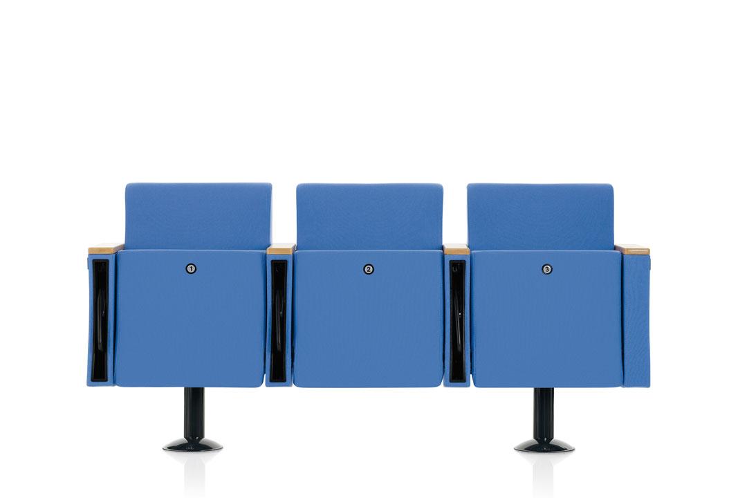 Victory poltrona per auditorium teatro cinema sala congressi meeting - Riganelli Arredamenti