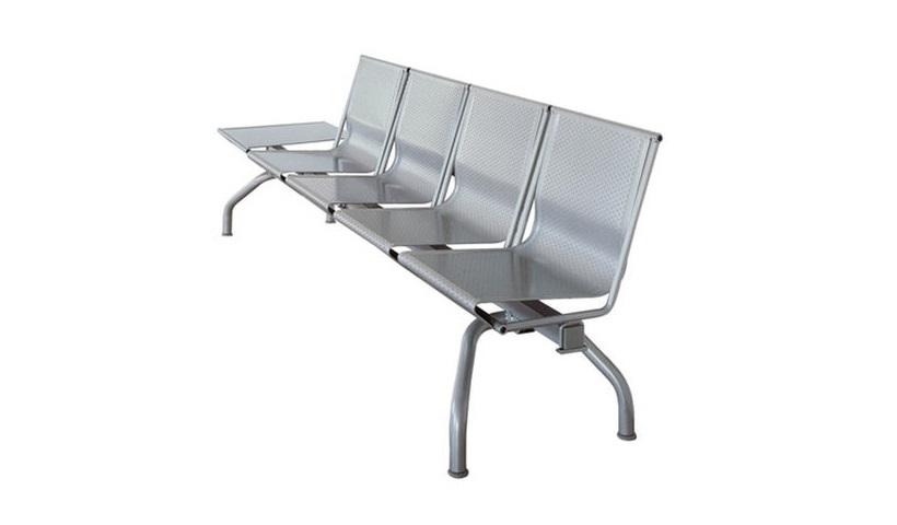 Sedute contract attesa collettività in acciaio - Riganelli Uffici